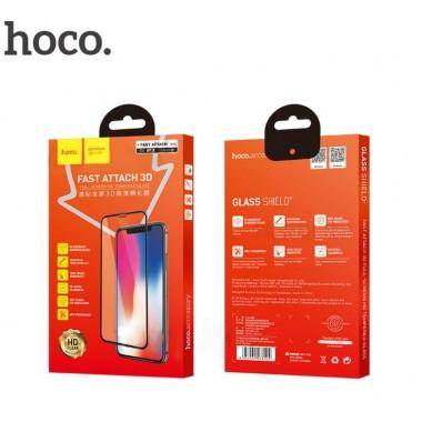 Защитное стекло Hoco Fast attach 3D full-screen HD для iPhone X