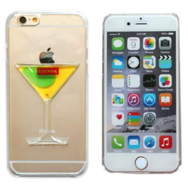 """Пластиковый чехол """"Бокал"""" для iPhone 5/5s/SE"""