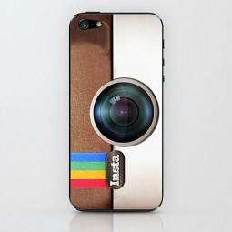 """Пластиковый чехол """"Instagram"""" для iPhone 5/5S"""