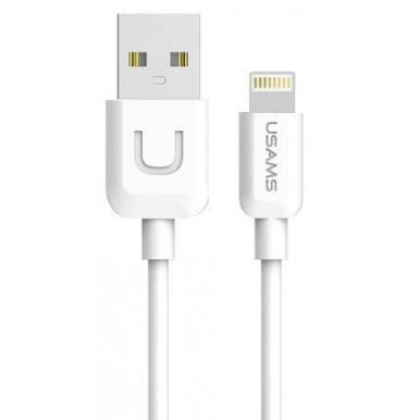 Lightning USB кабель Usams U-Turn Series белый