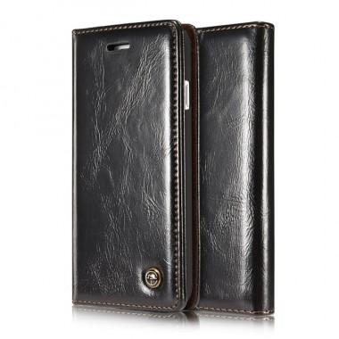 Кожаный чехол книжка с карманами Gago для iPhone 7 и 8