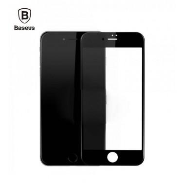 Защитное черное стекло Baseus 0.2 mm silk full-screen protector для iPhone 7 и 8