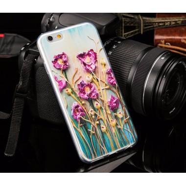 """Силиконовый чехол """"Ван Гог"""" для iPhone  iPhone 6/6s"""