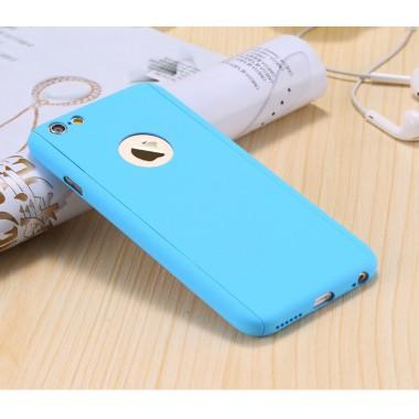 360 FULL COVER голубой чехол для iPhone 6/6s