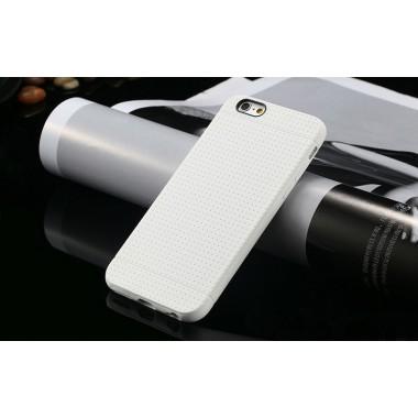 """Белый силиконовый чехол """"Air case"""" для iPhone 6/6s"""