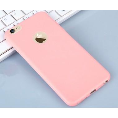 Ультратонкий розовый чехол для iPhone 7 Plus