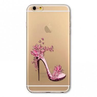 """Силиконовый чехол """"Туфелька"""" для iPhone 5/5s/SE"""