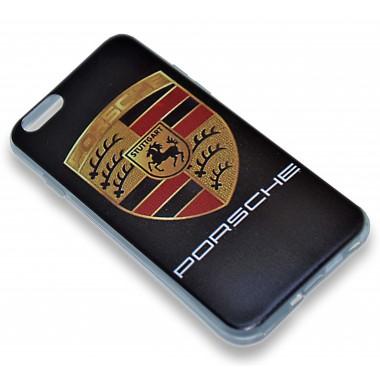 """Силиконовый чехол """"Porsche"""" для iPhone 6/6s"""