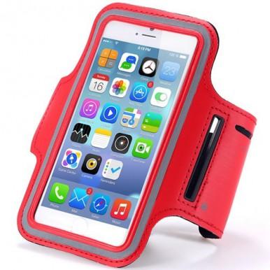 Спортивный красный чехол iArmband для iPhone