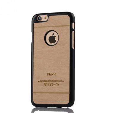 """Пластиковый чехол """"Дерево"""" ореховый для iPhone 6/6s"""