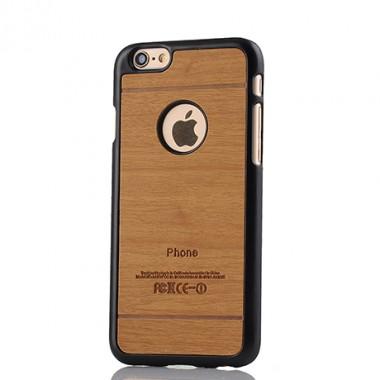 """Пластиковый чехол """"Дерево"""" коричневый для iPhone 6/6s"""