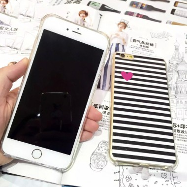 """Силиконовый чехол """"Сердечко"""" для iPhone 5c"""