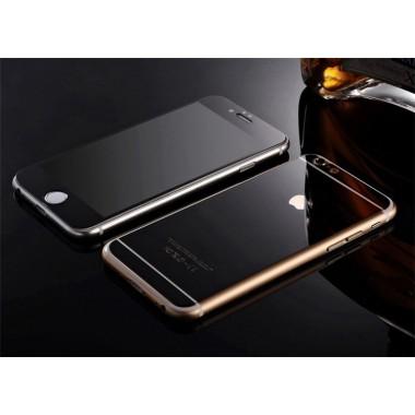 Комплект черных защитных стекол для iPhone 6/6s