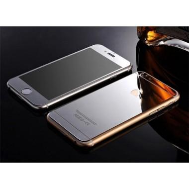 Комплект серебряных защитных стекол для iPhone 6/6s