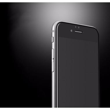 Черное защитное 4D стекло для iPhone 6+/6s+