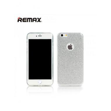 Блестящий серебряный чехол Remax Glitter для iPhone 7