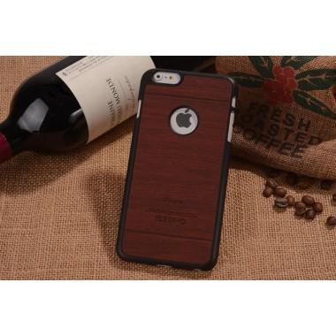 """Пластиковый чехол """"Дерево"""" красное дерево для iPhone 6/6s"""