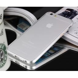 Металлический серебряный бампер для iPhone 6/6S