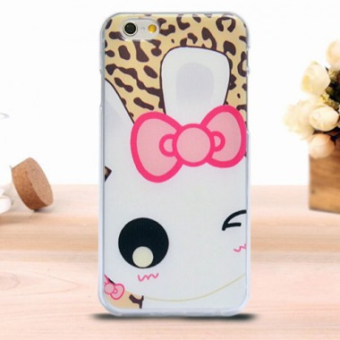 """Антиударный силиконовый чехол """"Cute"""" для iPhone 6/6s"""