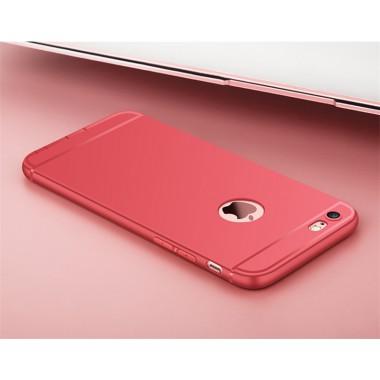 Ультратонкий розовый силиконовый чехол для iPhone 7 Plus