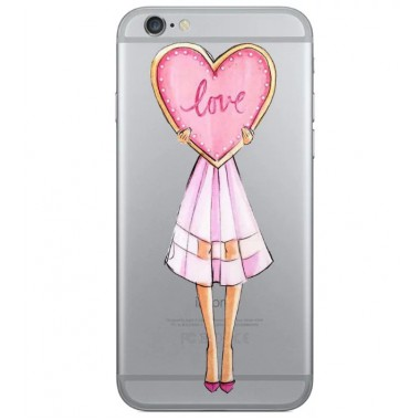 "Пластиковый чехол ""Love"" для iPhone 7"