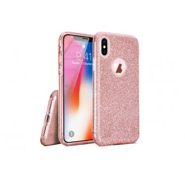 Силиконовый розовый чехол Aspor Mask Collection для iPhone X