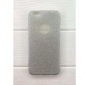 Силиконовый серебряный чехол Aspor Mask Collection для iPhone 7 и 8 Plus