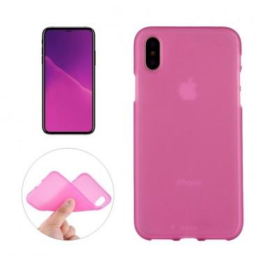 Ультратонкий розовый для iPhone X