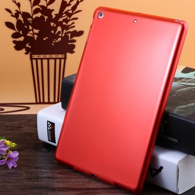Красный силиконовый чехол для iPad Air