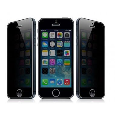 Защитное стекло на экран Шпион для iPhone 4/4s