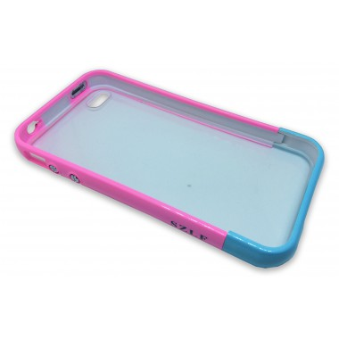 Пластиковый бампер с задней крышкой для iPhone 4/4s