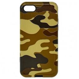 Антиударный чехол Remax Cover Haki Shok коричневый для iPhone 6/6s
