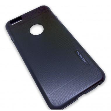"""Антиударный черный чехол """"Motomo"""" для iPhone 6+/6s+"""