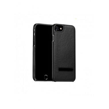 Кожаный чехол с подставкой Hoco Platinum Series litchi grain для iPhone 7 Plus