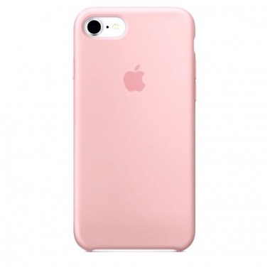 Light Pink Apple silicone case для iPhone 7/8