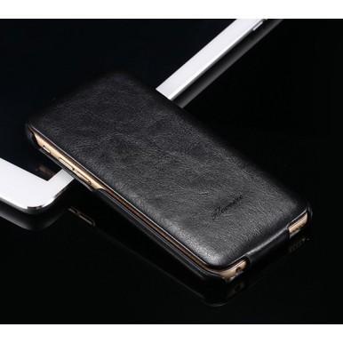 """Кожаный чехол флип """"Floveme"""" для iPhone 7"""