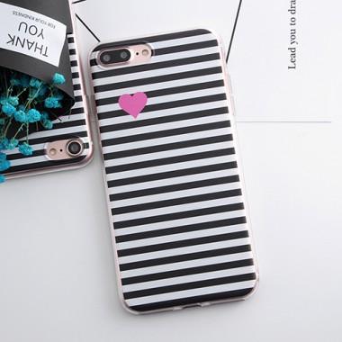 """Антиударный силиконовый чехол """"Сердечко"""" iPhone 7"""