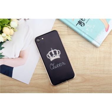 """Силиконовый чехол """"Queen"""" для iPhone 7"""