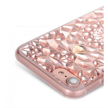 Силиконовый чехол Ромбик для iPhone 6/6s