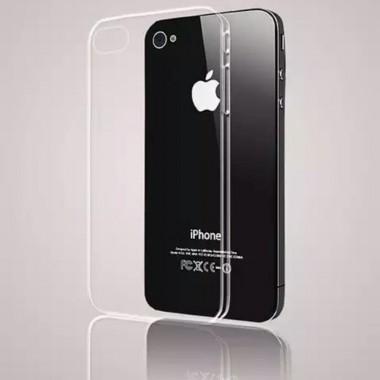 Прозрачный силиконовый чехол для iPhone 4/4s