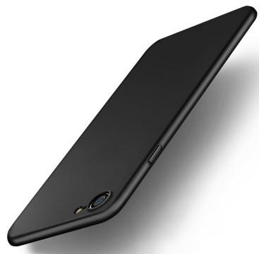 Черный силиконовый чехол для iPhone 7 Plus