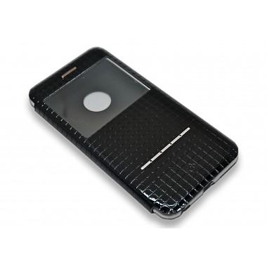 """Лакированый кожаный чехол-книжка """"TOTU DESIGN"""" с окном для iPhone 6+/6s+"""