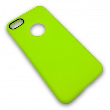 """Силиконовый салатовый чехол """"Apple case"""" iPhone 7"""
