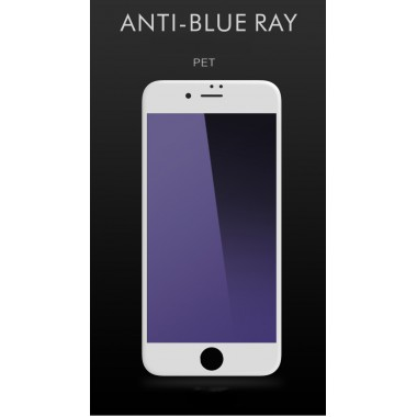Защитное стекло Remax Gener 3D Full cover Curved edge Anti-Blue Ray White для Iphone 6/6s