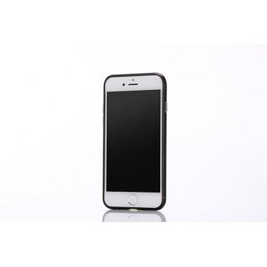 Металлический черный бампер для iPhone 7
