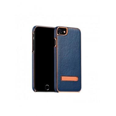 Кожаный чехол с подставкой Hoco Platinum Series litchi grain для iPhone 7