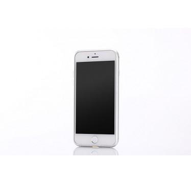 Металлический серебряный бампер для iPhone 7 Plus