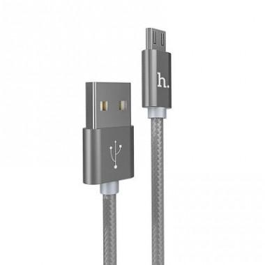 Micro USB кабель Hoco X2 knitted Charging
