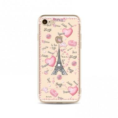 Силиконовый чехол France iPhone 7 Plus