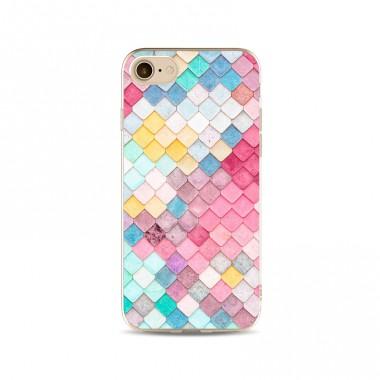Пластиковый чехол Мозаика для iPhone 7 Plus